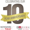 Leading Press Release Newswire and Market Research Report Distribution Service Network Celebrates 10 Year Anniversary - The business news distribution network (PRZOOM.com, NewswireToday.com, and more recently PRTODAY.com) has become the top most used service on a daily basis within the U.S., United Kingdom, France, and Germany