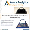 Azoth Analytics Releases 2015-2020 Global Handbags Market Trends, Opportunities and Forecasts - Global Handbags Market: Trends, Opportunities and Forecasts (2015-2020) - (By Value, By Region, By Country, By Type (Men, Women), By Price (Ultra-Premium, Premium, Ordinary), Key Players