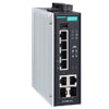 Moxa Releases 60 W PoE Switches to Power Heavy-duty IP Cameras in Harsh Environments - Moxa has launched the EDS-P506E-4PoE series of PoE switches that can provide up to 60 W per PoE port for converged data and power transmission - Moxa.com