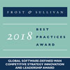 Frost & Sullivan Recognizes Silver Peak with the 2018 Global Competitive Strategy Innovation and Leadership Award - Silver Peak Unity EdgeConnect uniquely integrates SD-WAN, WAN optimization, routing and security, enabling enterprises to embrace the cloud and move beyond conventional router-centric architectures - Silver-Peak.com / Frost.com
