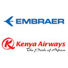Embraer and Kenya Airways Sign Comprehensive Spare Parts Support Contract - Embraer and Kenya Airways announced at the 2018 Farnborough Airshow the signing of a multi-year contract for the Embraer Collaborative Inventory Planning (ECIP) program - Kenya-Airways.com / Embraer.com