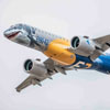 The 'Shark' E190-E2 Arrives in Europe for the Demonstration Tour - Embraer is now beginning the European and the Commonwealth of Independent States (CIS) part of the E190-E2 worldwide demonstration tour - Embraer.com